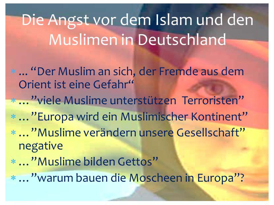 Die Angst vor dem Islam und den Muslimen in Deutschland