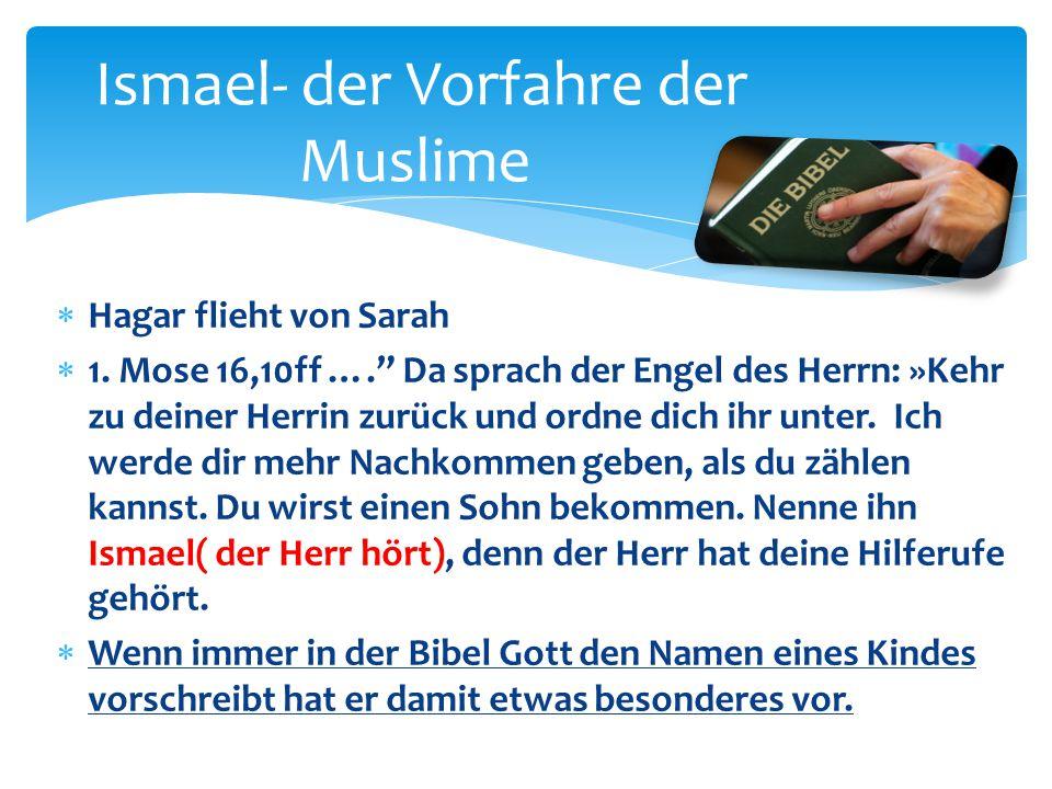 Ismael- der Vorfahre der Muslime