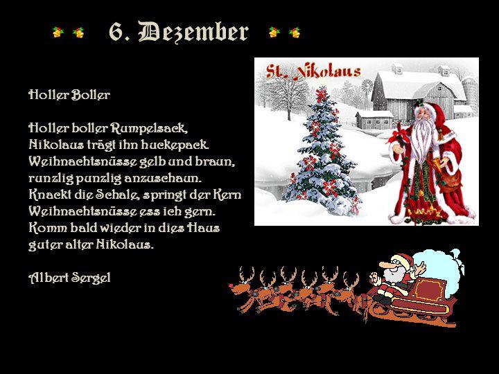 6. Dezember 6. Dezember Holler Boller