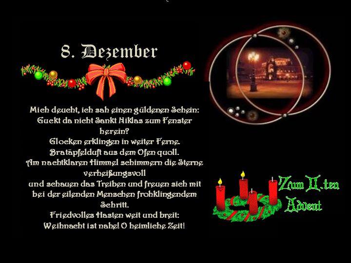 8. Dezember 8. Dezember.