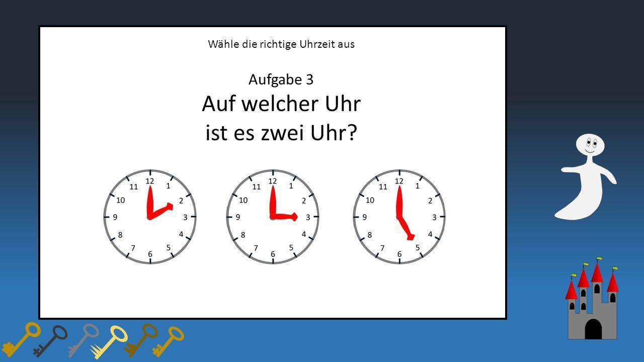 Auf welcher Uhr ist es zwei Uhr