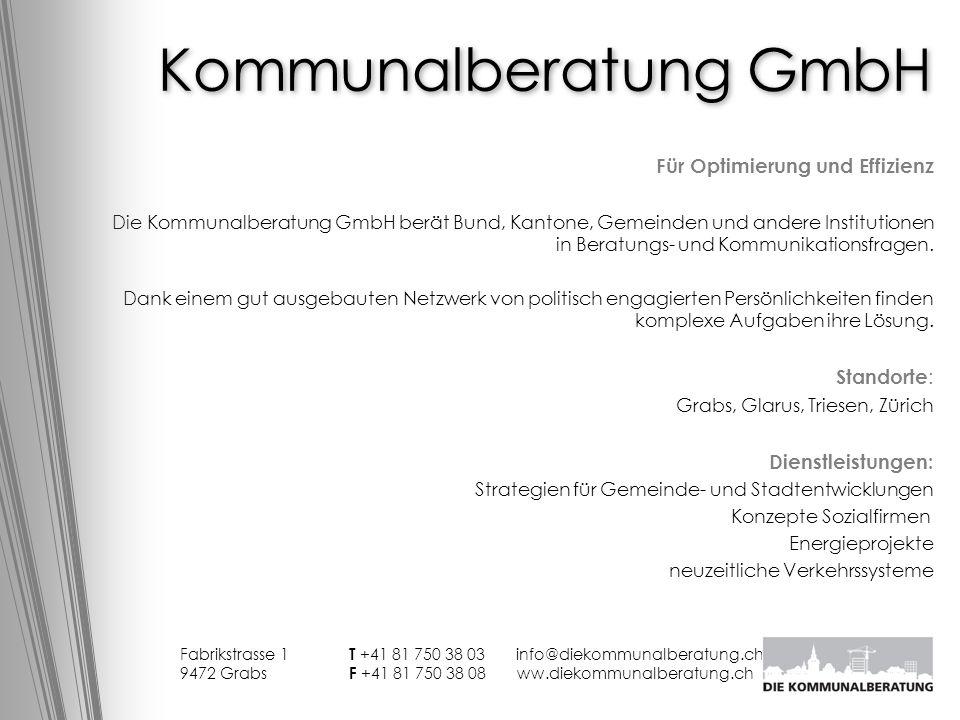 Kommunalberatung GmbH