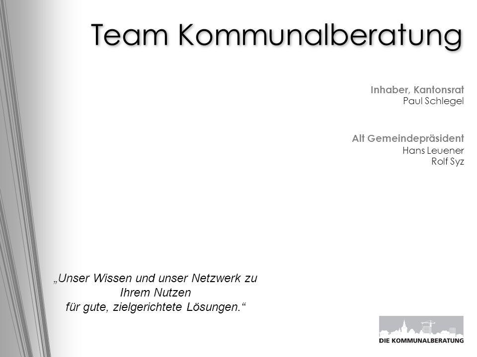 Team Kommunalberatung
