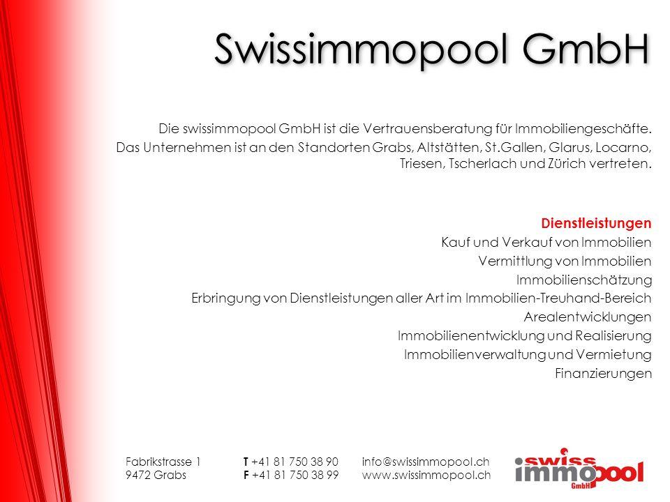 Swissimmopool GmbH Dienstleistungen