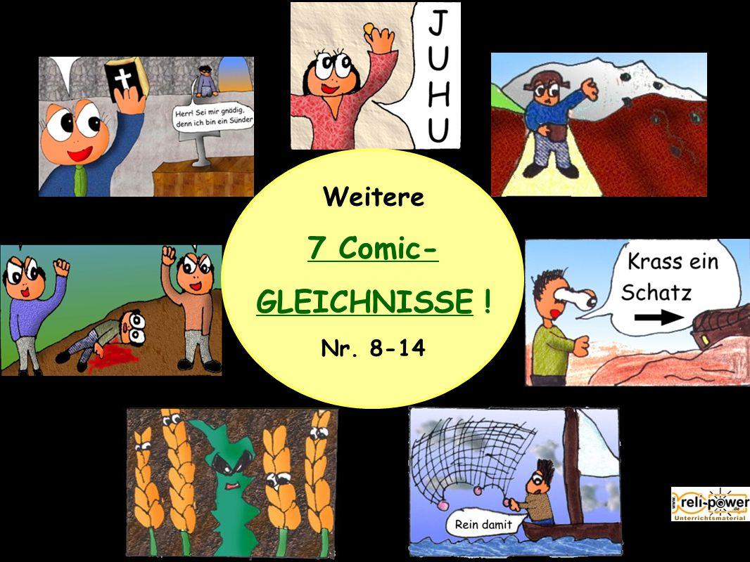 Weitere 7 Comic- GLEICHNISSE ! Nr. 8-14