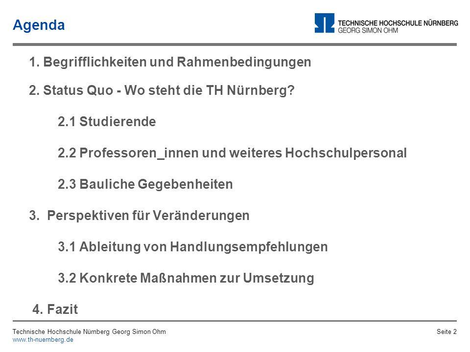 Agenda 1. Begrifflichkeiten und Rahmenbedingungen