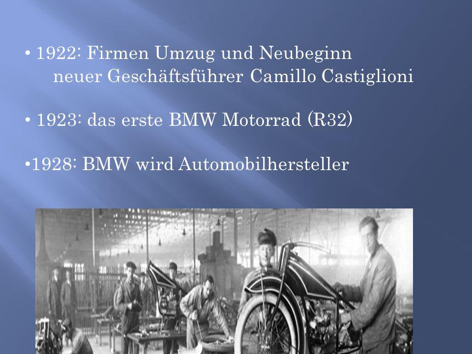 1922: Firmen Umzug und Neubeginn