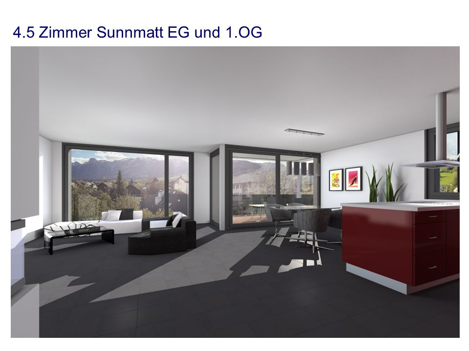 4.5 Zimmer Sunnmatt EG und 1.OG