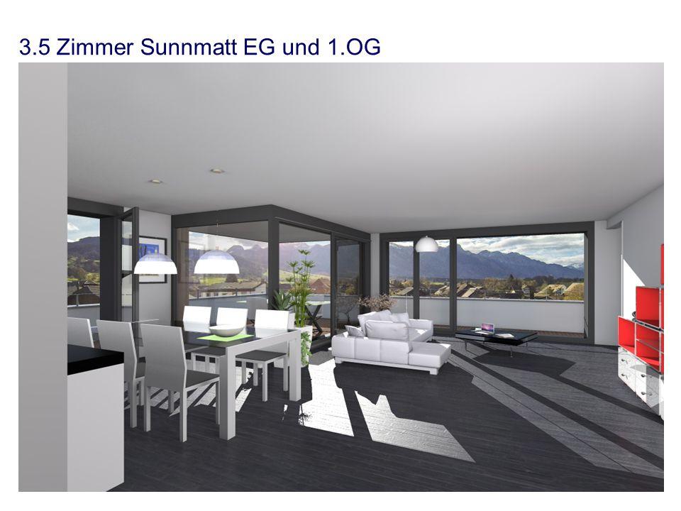 3.5 Zimmer Sunnmatt EG und 1.OG