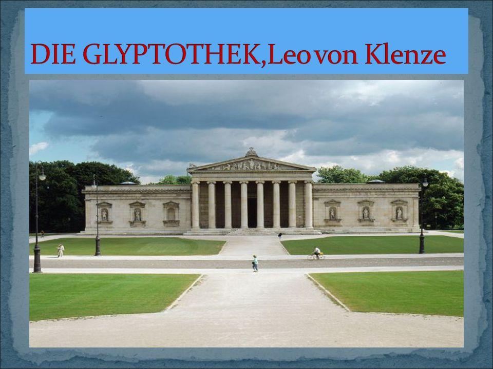 DIE GLYPTOTHEK,Leo von Klenze