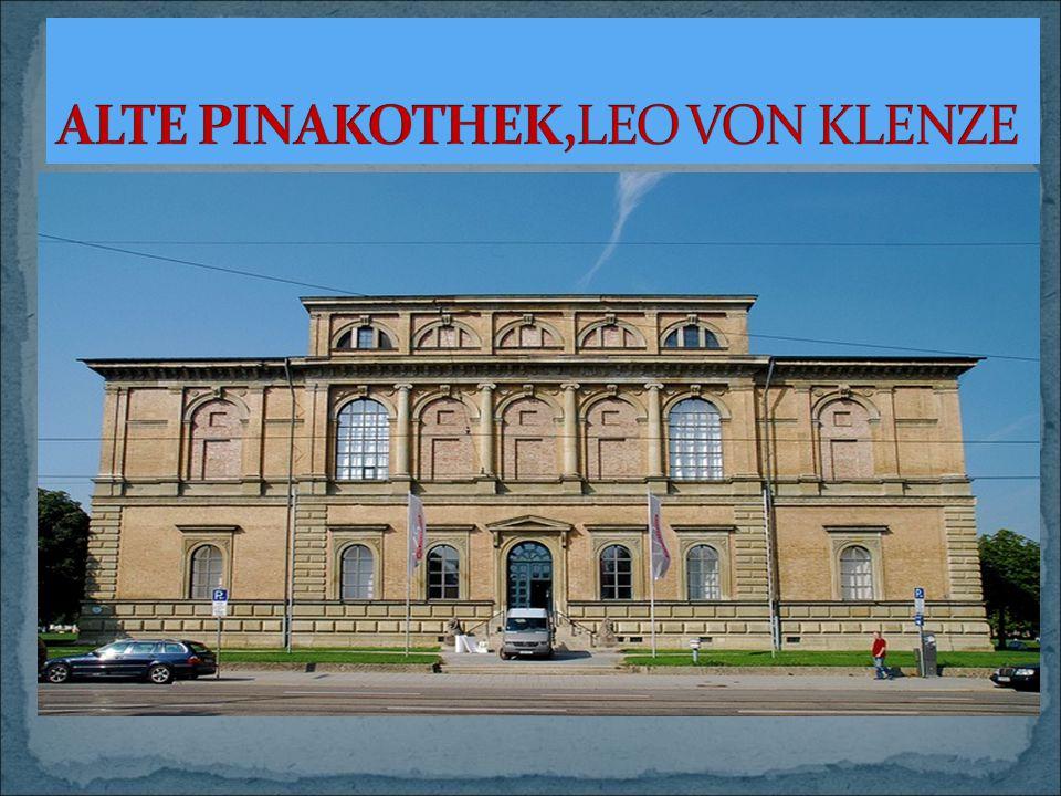 ALTE PINAKOTHEK,LEO VON KLENZE