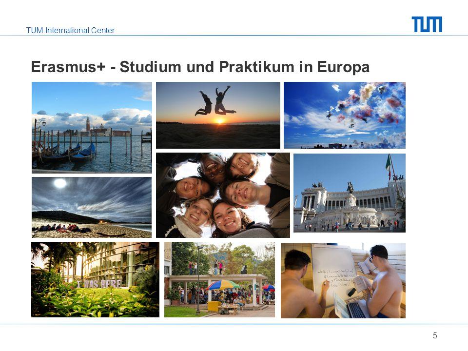 Erasmus+ - Studium und Praktikum in Europa