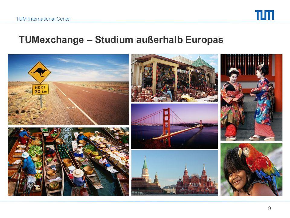 TUMexchange – Studium außerhalb Europas