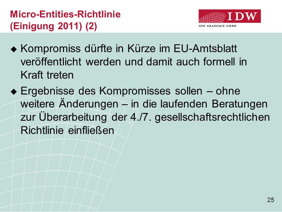 Micro-Entities-Richtlinie (Einigung 2011) (2)