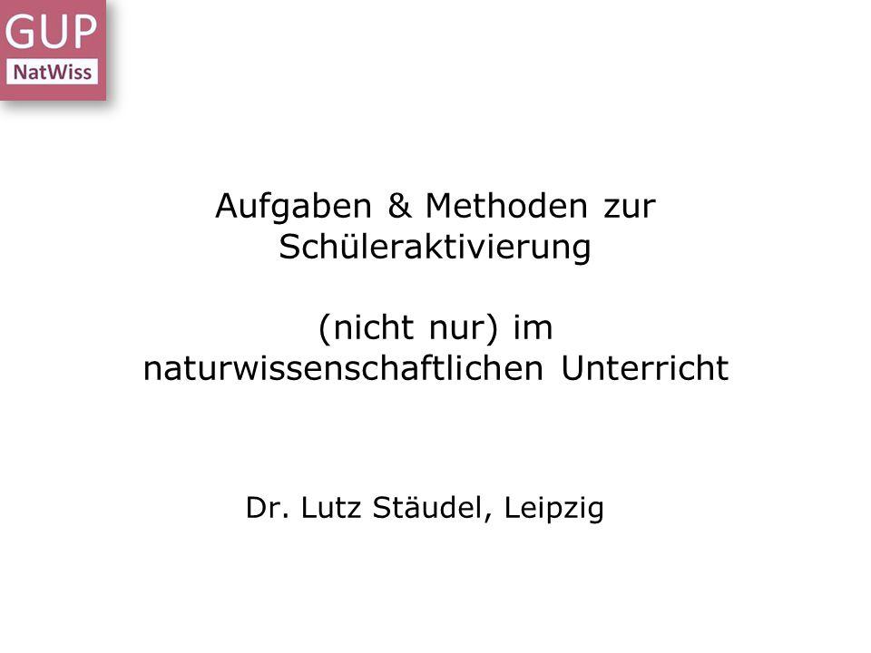 Dr. Lutz Stäudel, Leipzig