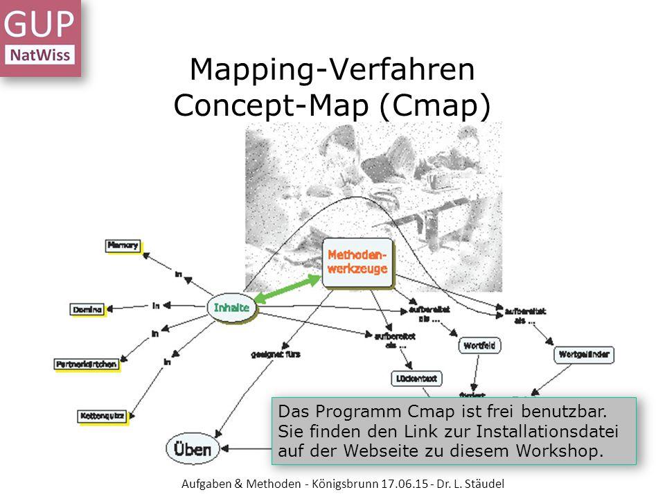Mapping-Verfahren Concept-Map (Cmap)