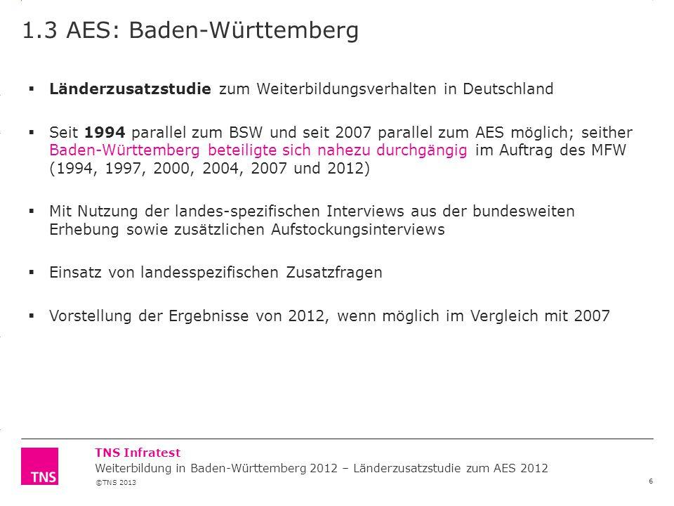 1.3 AES: Baden-Württemberg