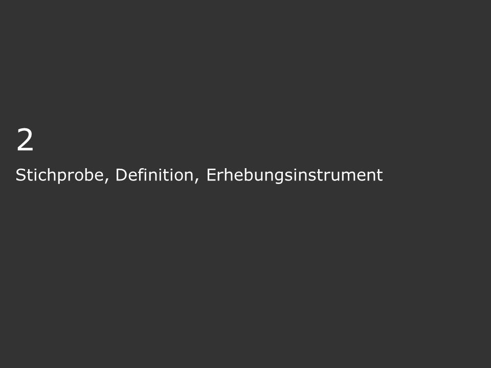 Stichprobe, Definition, Erhebungsinstrument