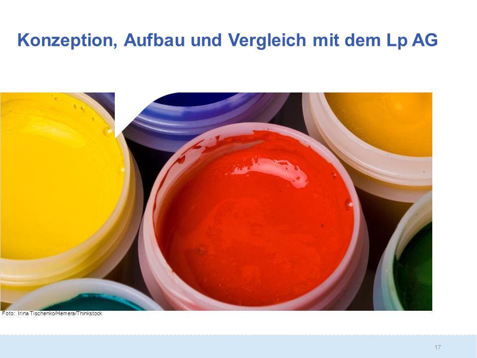 Konzeption, Aufbau und Vergleich mit dem Lp AG