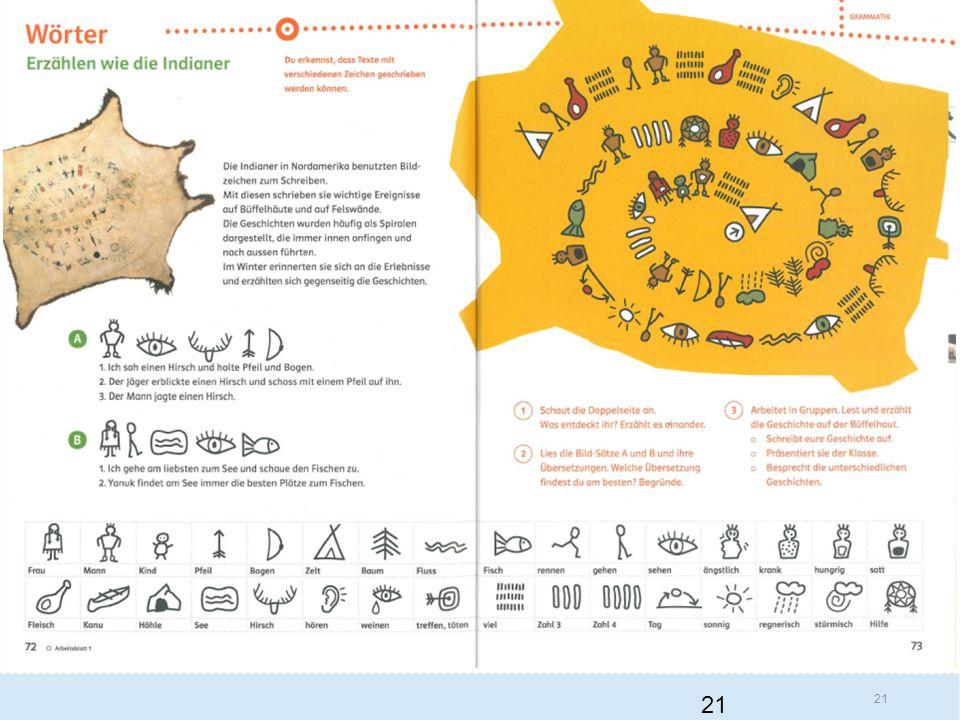 Und jetzt noch ein Beispiel aus dem Fach Deutsch aus dem zweiten Zyklus, aus der dritten Primarschule. Diese Stelle kommt wirklich ein bisschen hochgestochen daher. Denn die Schülerinnen und Schüler sollen die Sprache erforschen und Sprachen vergleichen können. Eine solche Formulierung kann irritieren.