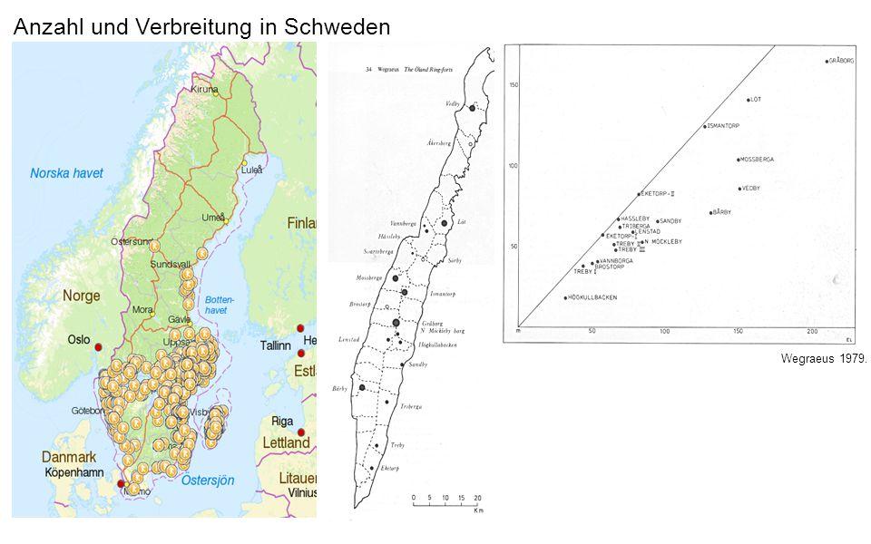 Anzahl und Verbreitung in Schweden