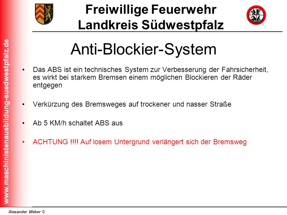 Anti-Blockier-System