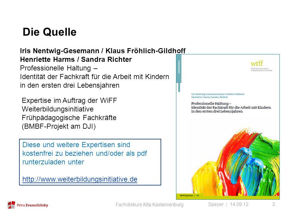 Die Quelle Iris Nentwig-Gesemann / Klaus Fröhlich-Gildhoff