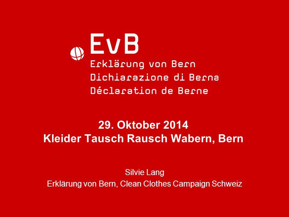 29. Oktober 2014 Kleider Tausch Rausch Wabern, Bern