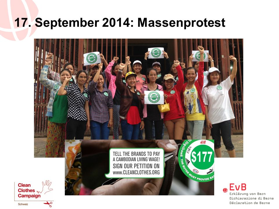 17. September 2014: Massenprotest