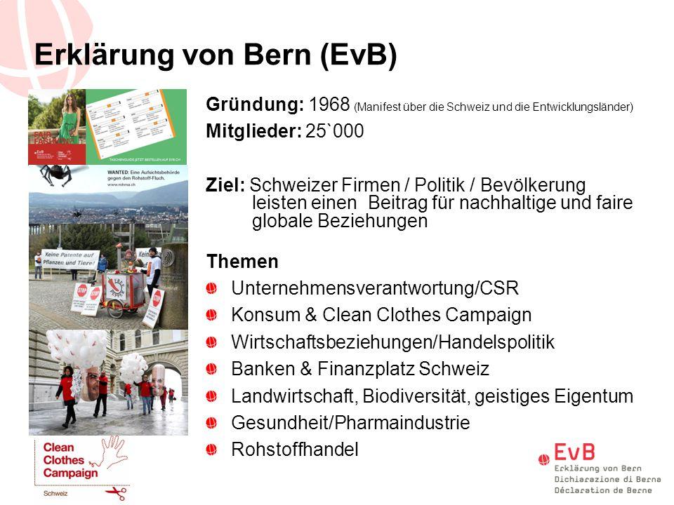 Erklärung von Bern (EvB)