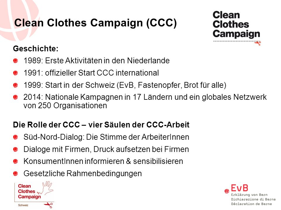 Clean Clothes Campaign (CCC)