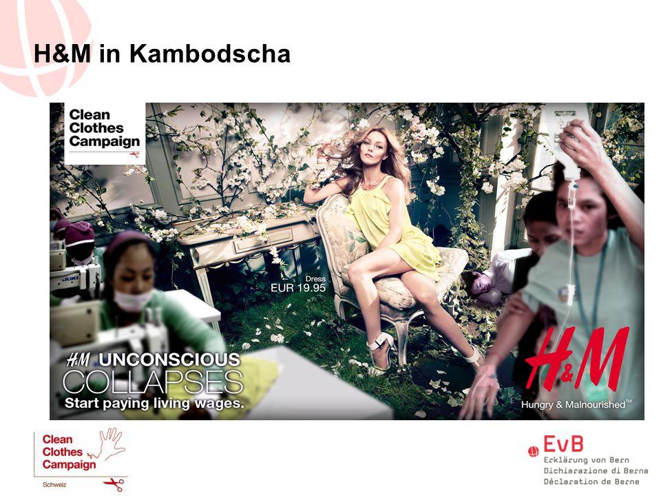 H&M in Kambodscha