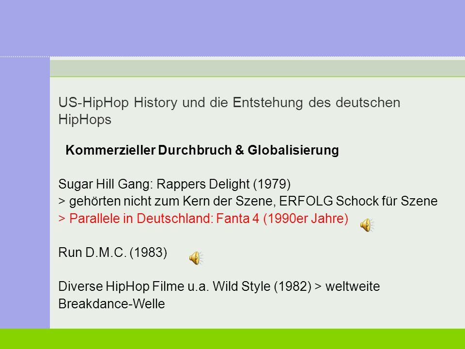 US-HipHop History und die Entstehung des deutschen HipHops