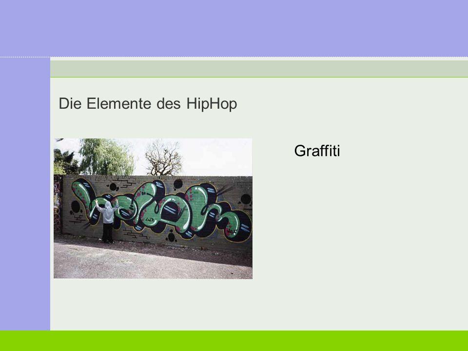 Die Elemente des HipHop
