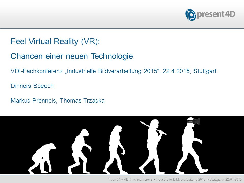 Feel Virtual Reality (VR): Chancen einer neuen Technologie