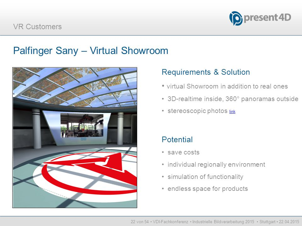 Palfinger Sany – Virtual Showroom