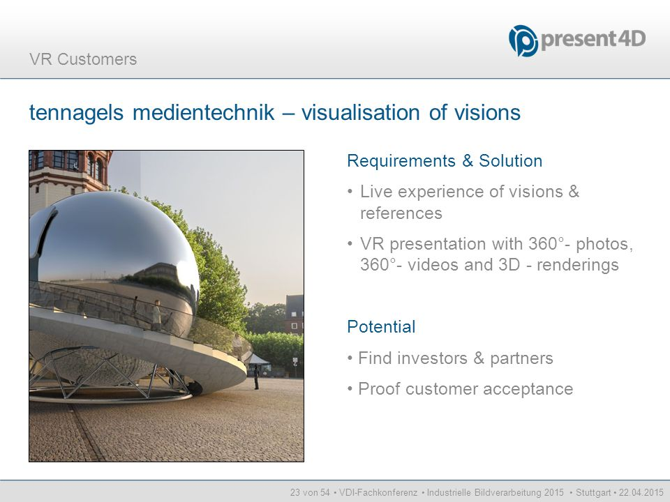 tennagels medientechnik – visualisation of visions