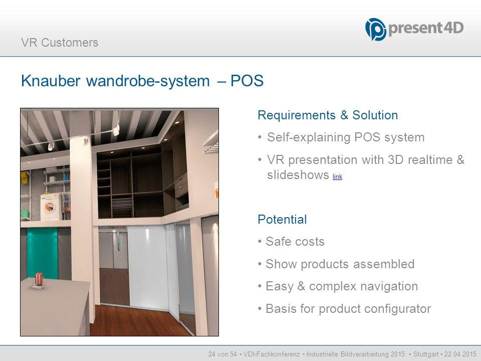 Knauber wandrobe-system – POS
