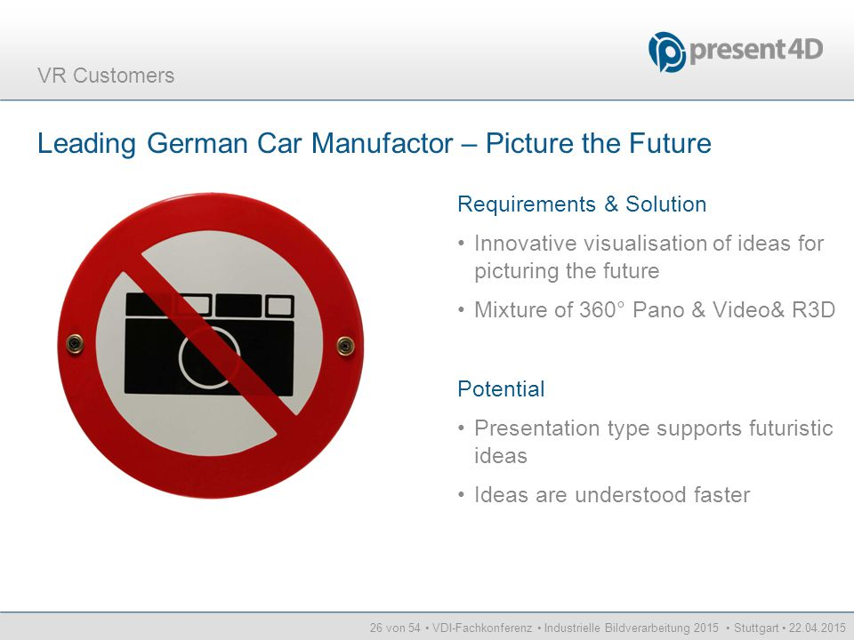 Leading German Car Manufactor – Picture the Future