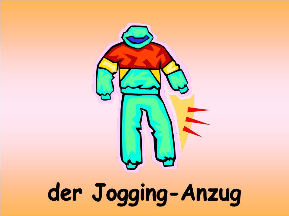 der Jogging-Anzug
