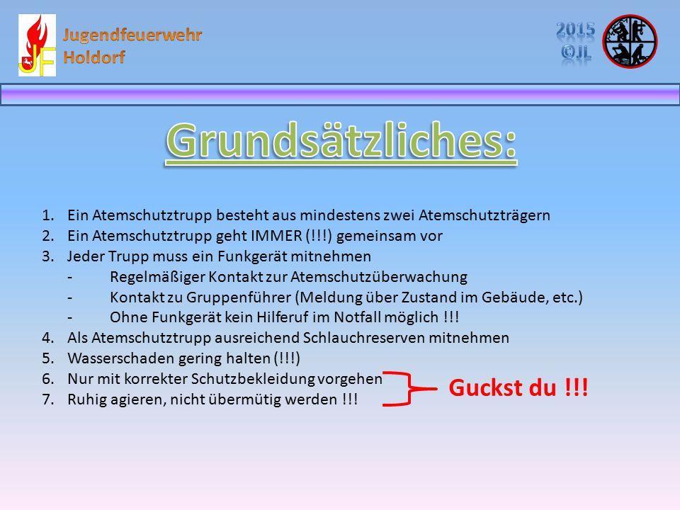 Grundsätzliches: Guckst du !!! 2015 Jugendfeuerwehr ©JL Holdorf