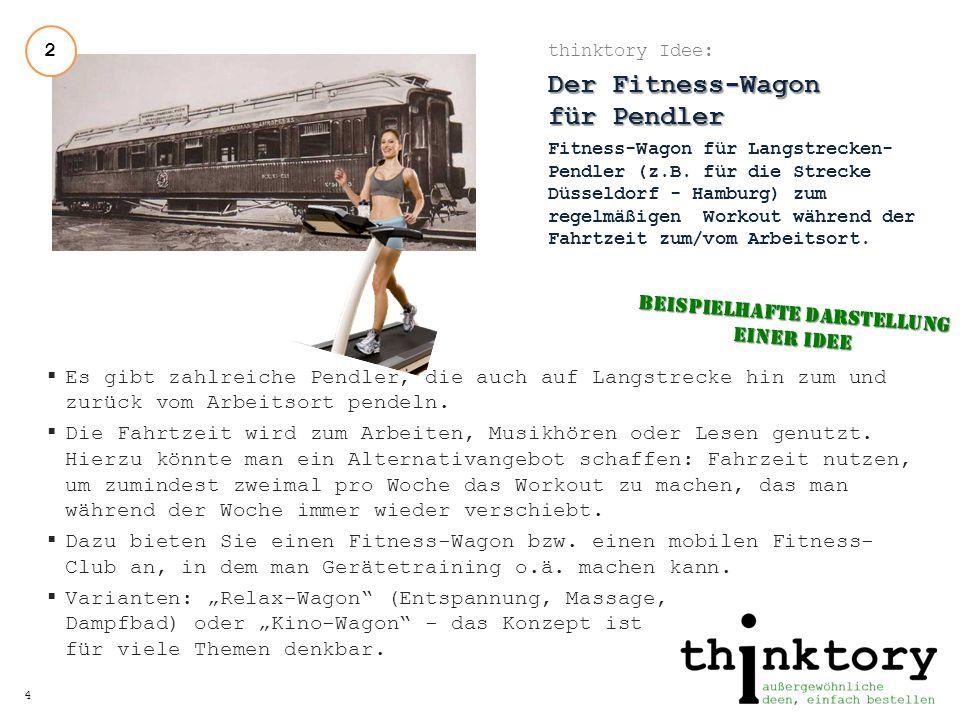 Der Fitness-Wagon für Pendler