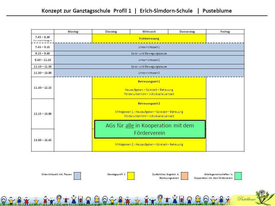 AGs für alle in Kooperation mit dem Förderverein