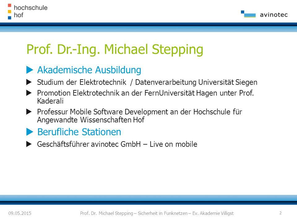 Prof. Dr.-Ing. Michael Stepping