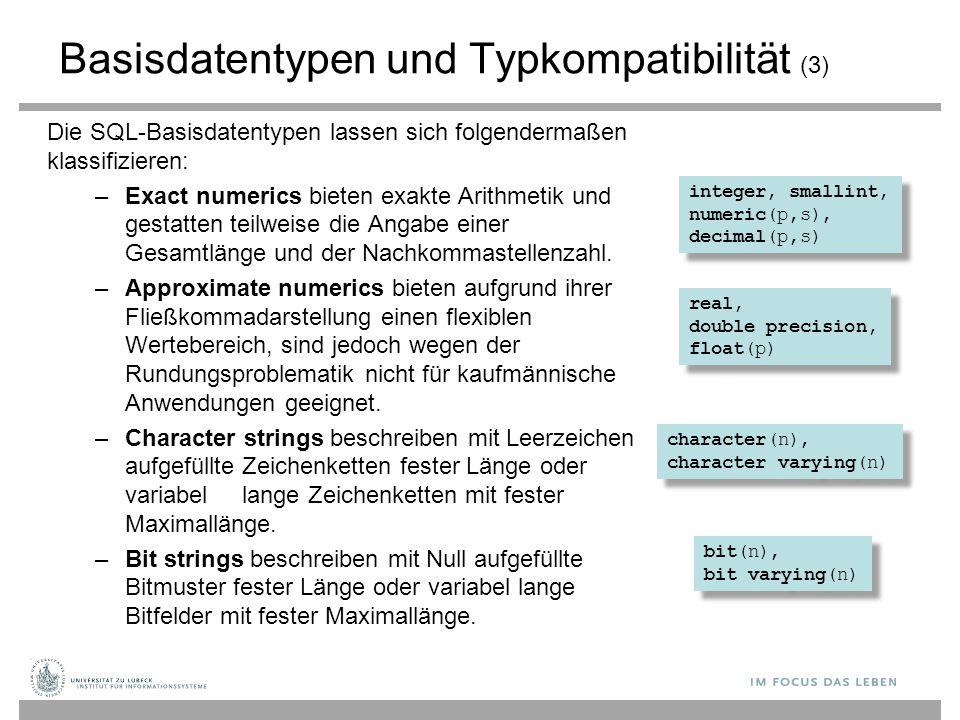 Basisdatentypen und Typkompatibilität (3)