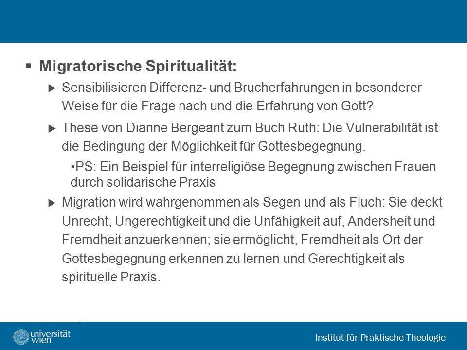 Migratorische Spiritualität: