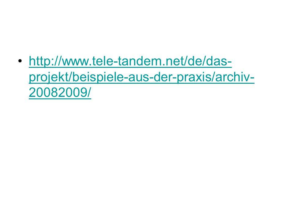 http://www. tele-tandem