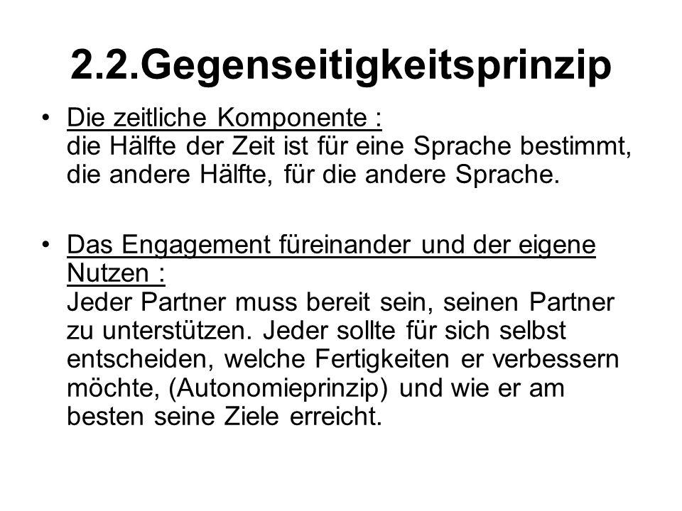 2.2.Gegenseitigkeitsprinzip