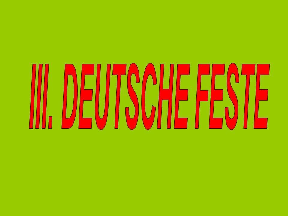 III. DEUTSCHE FESTE