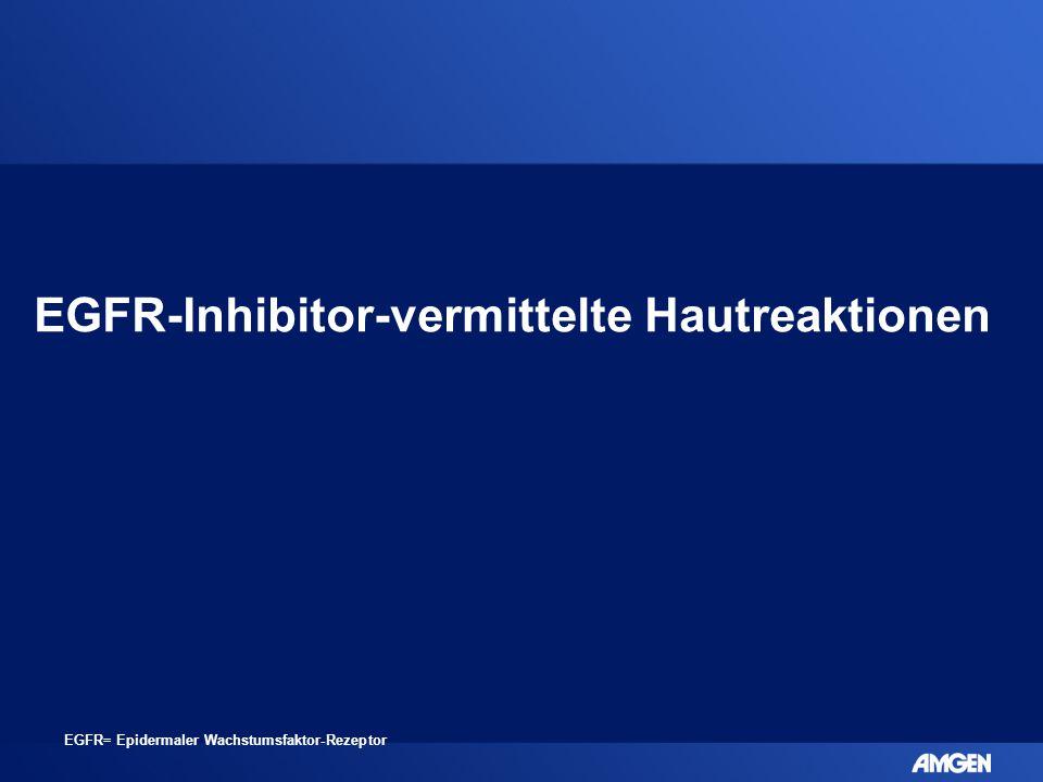 EGFR-Inhibitor-vermittelte Hautreaktionen